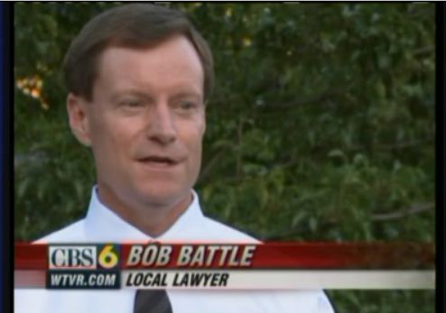 Bob Battle on CBS-6 News